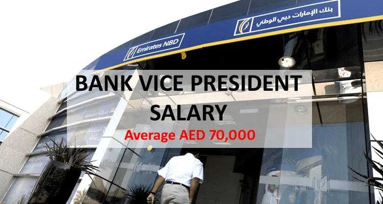 Bank Vice President Salary Dubai