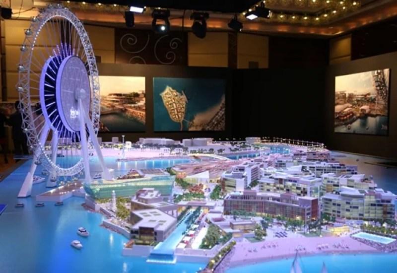 Bluewater Island & Dubai Eye