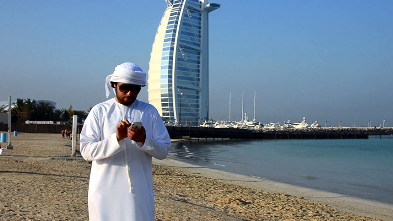 Using Cell PHone in Dubai