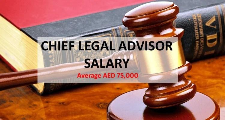 Chief Legal Officer Salary Dubai