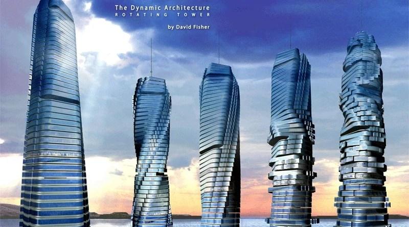 Dubai Rotating Towers