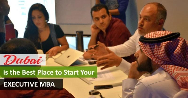 Executive MBA in Dubai