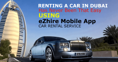 eZhire Mobile App Car Rental Service