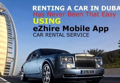 eZhire Mobile App Car Rental Service