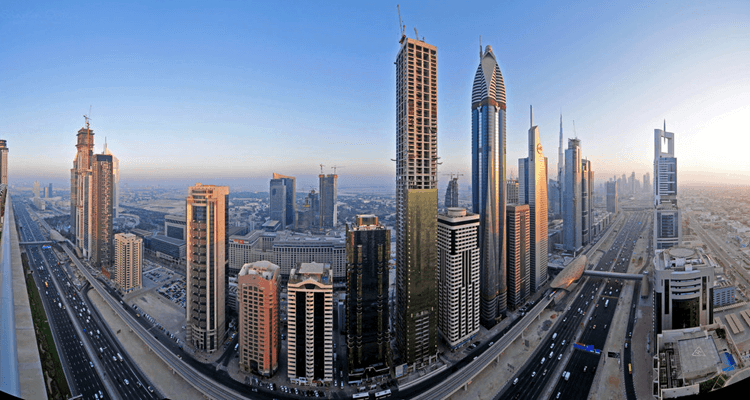 Hotels on Sheikh Zayed Road