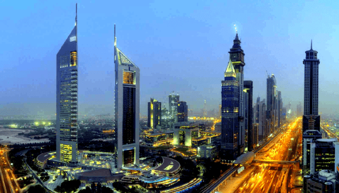 Jumeirah Towers New Year Party