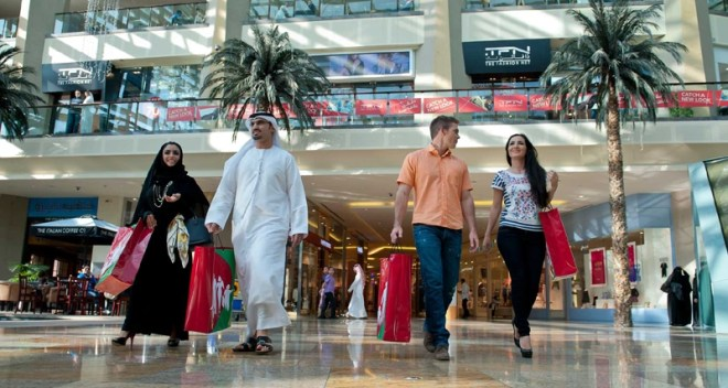 Crazy Shopping in Dubai