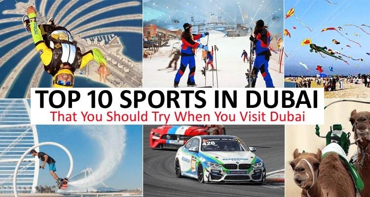 Sports in Dubai
