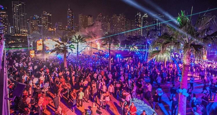 Zero Gravity Dubai New Year 2018