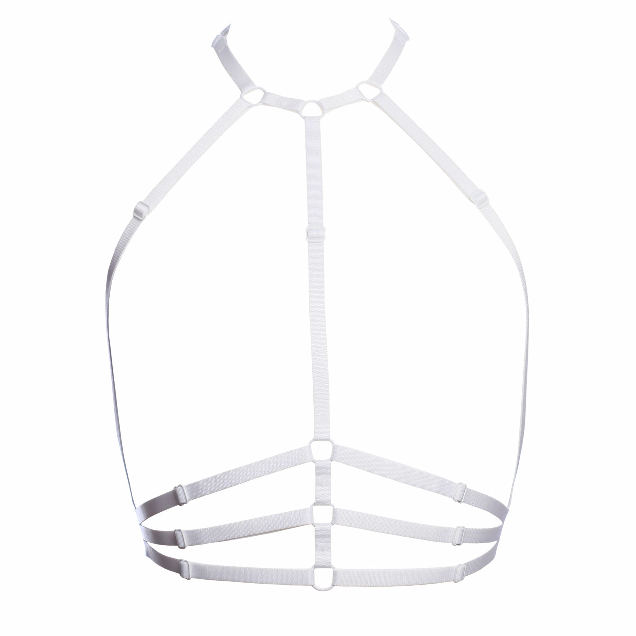 The Samantha Harness In White By Flash You And Me