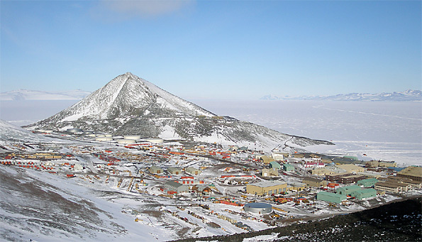 McMurdo Base Alaska