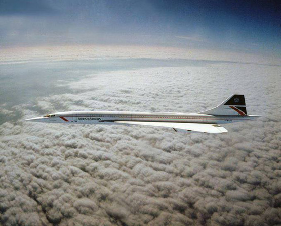 Concorde Jet proves curved earth