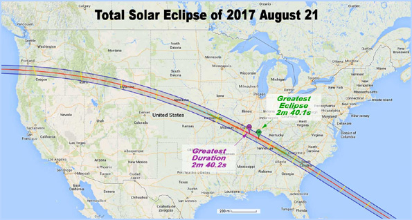 Solar Eclipse August 21, 2017 proves globe earth
