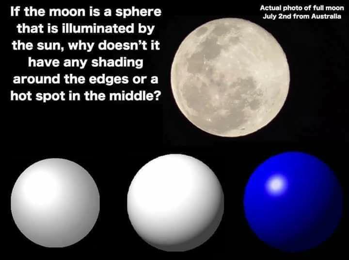 colori della luna