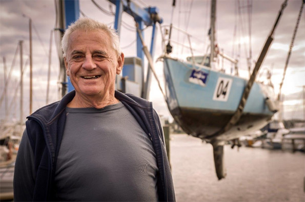 Yachting legend Jon Sanders and his faithful SV Perie Banou II are taking one last circumnavigation of the planet. He has done it 9 times before.