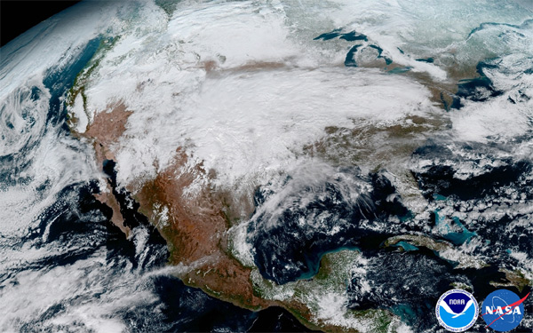 Goes-16 North America/CONUS Satellite