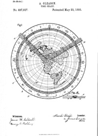 Maps Prove The Flat Earth Deception Equidistant Map Azimuthal Map