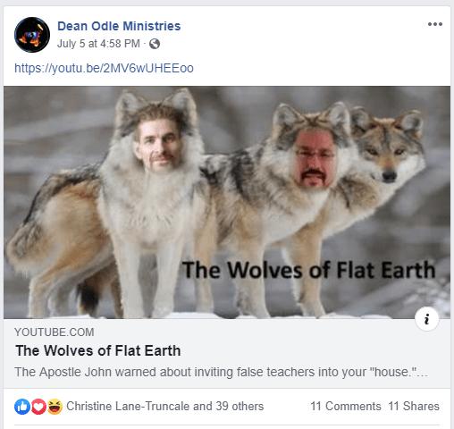 Pastor Dean Odle Wolves