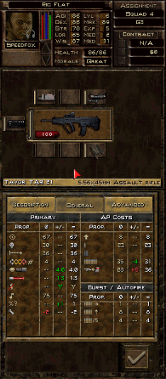 Waffeneigenschaften