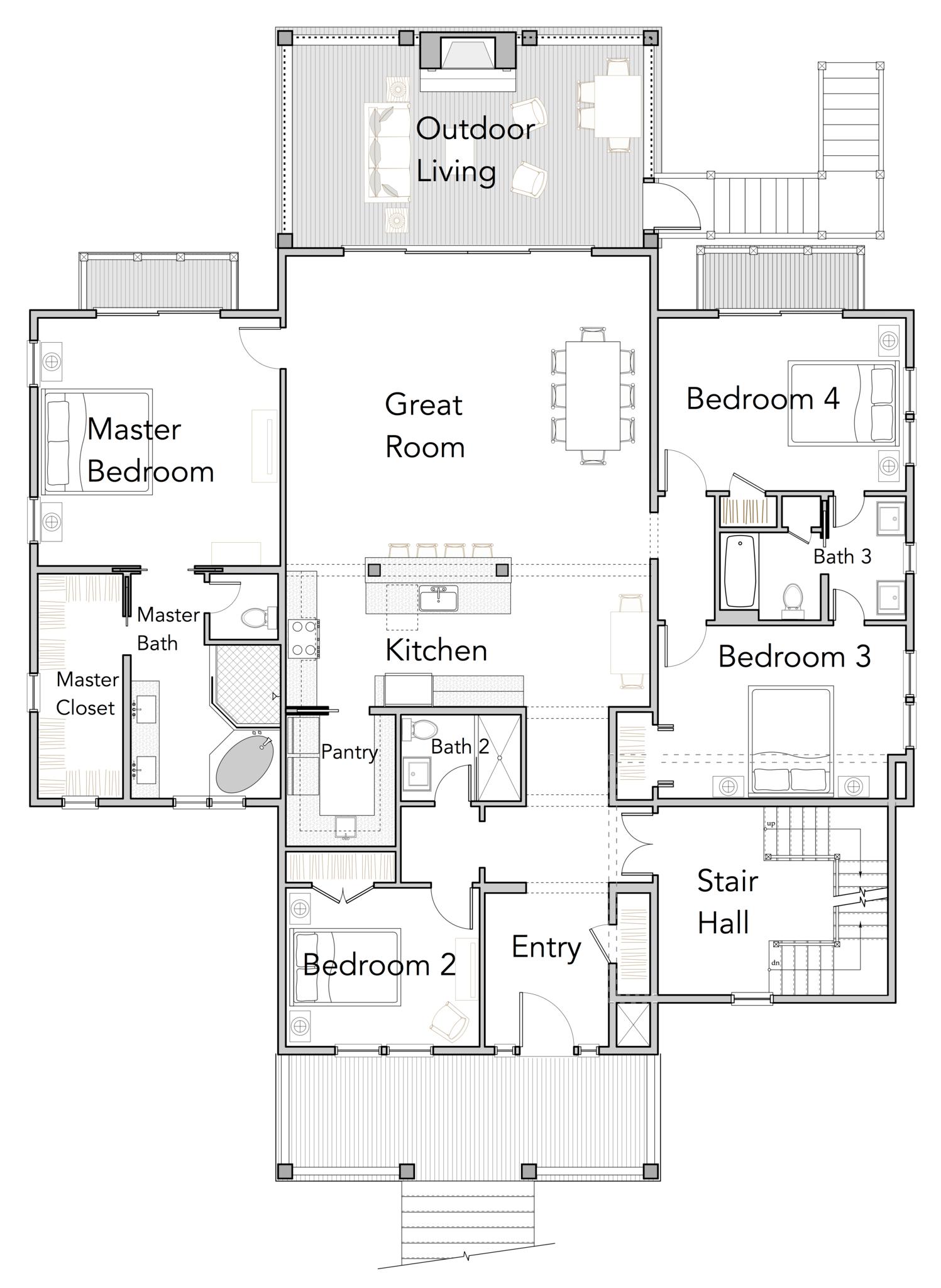 Wando Perch Home Plan