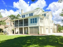Coastal Cottage House Plans Flatfish Island Design
