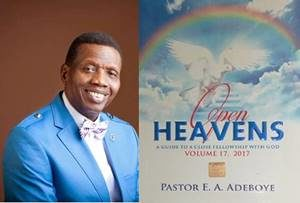 RCCG Open Heavens, Pastor Adeboye
