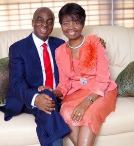Bishop David Oyedepo and Pastor Faith Oyedepo