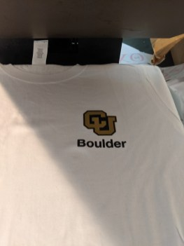 CU Boulder Shirts