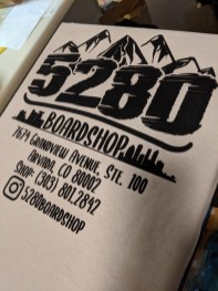 5280 Boardshop Shirts - BW