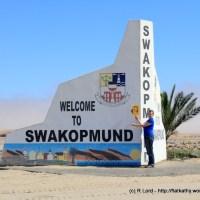 Exploring the pretty coastal town of Swakopmund - between the great Atlantic Ocean and the dramatic Namib desert