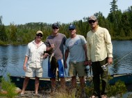 Better looking, and undoubtedly better fishermen: August 2013