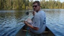 Steve's biggest fish all trip