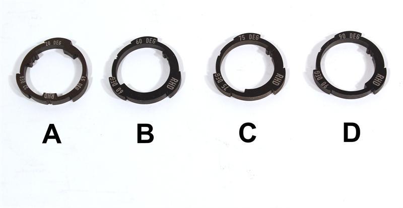 Profile Z Coaster Slack Cam Ring