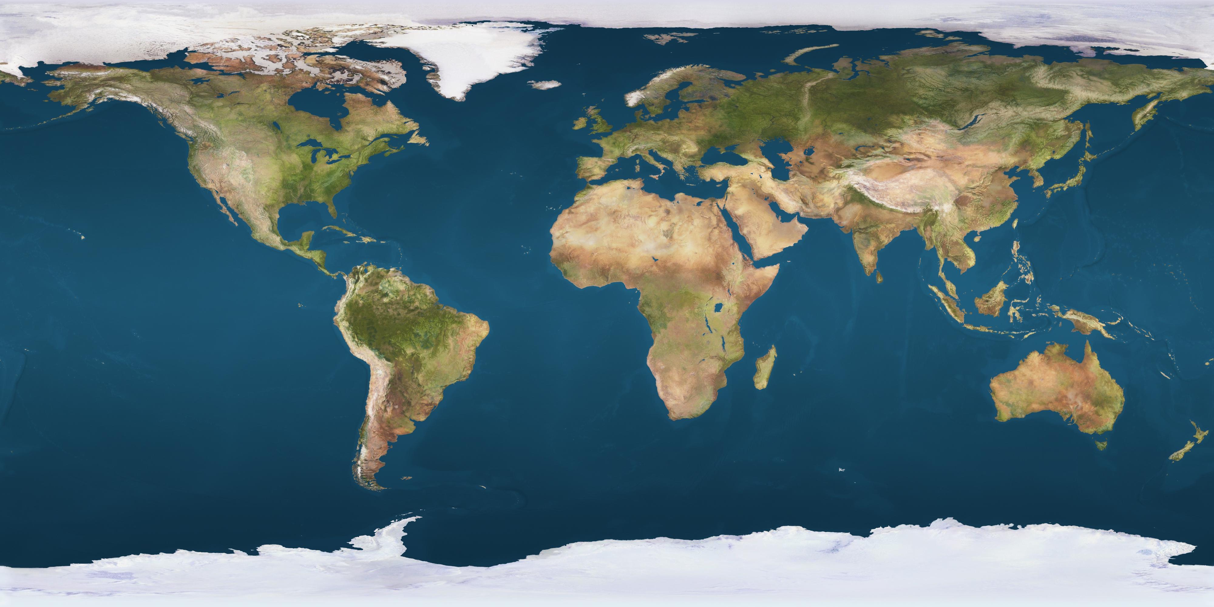 flat earth map high resolution