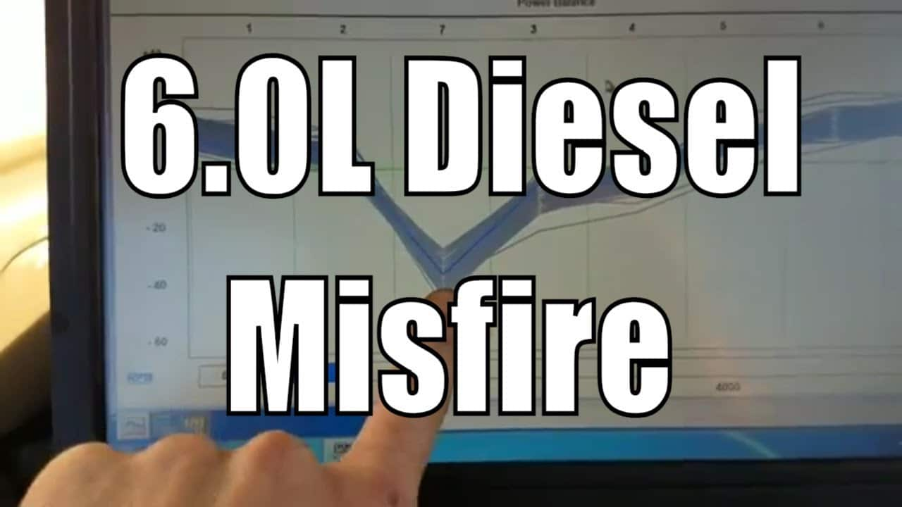 6 0L Ford Power Stroke Engine Misfire Diagnostic P0300 – DIY Auto