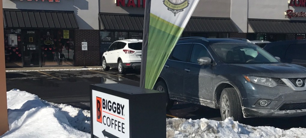 Biggby Coffee in Flat Rock