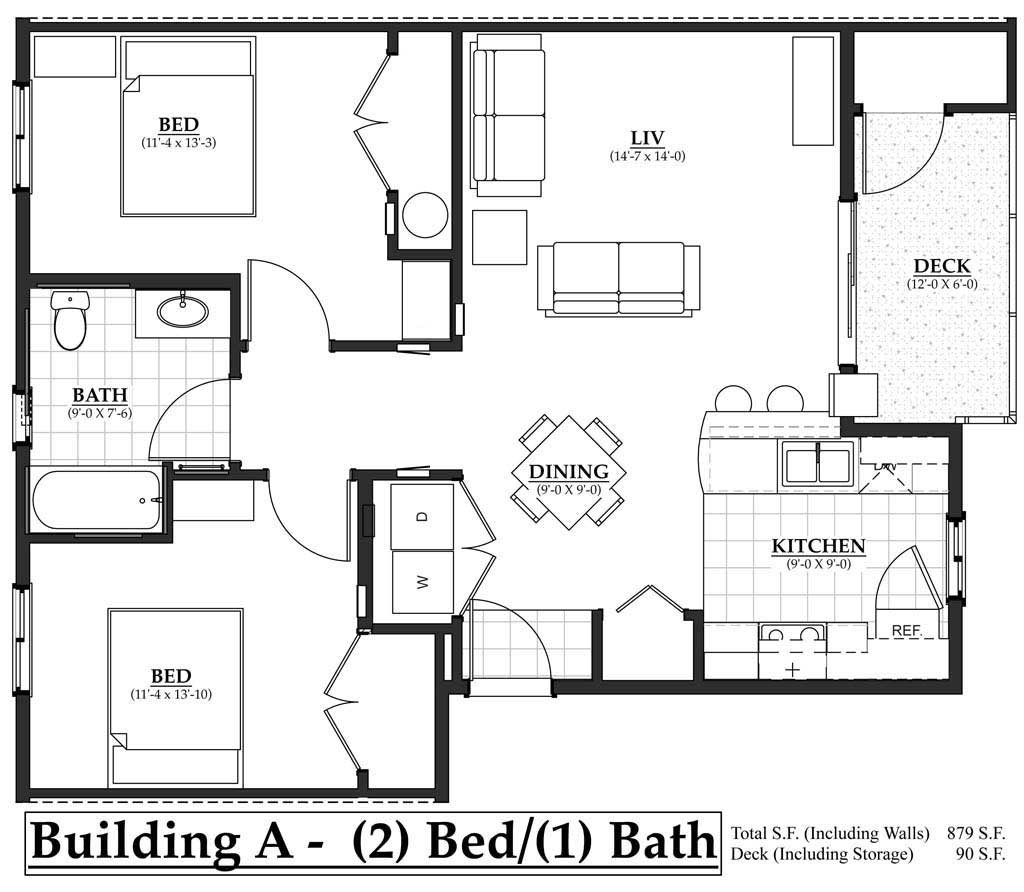 Building A 2 Bedroom