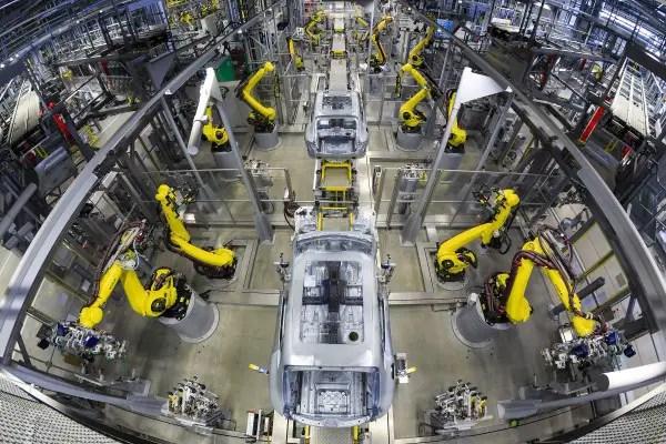 Porsche Leipzig Production Line