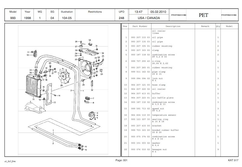 Here's A Great Resource To Find The Porsche Part Number