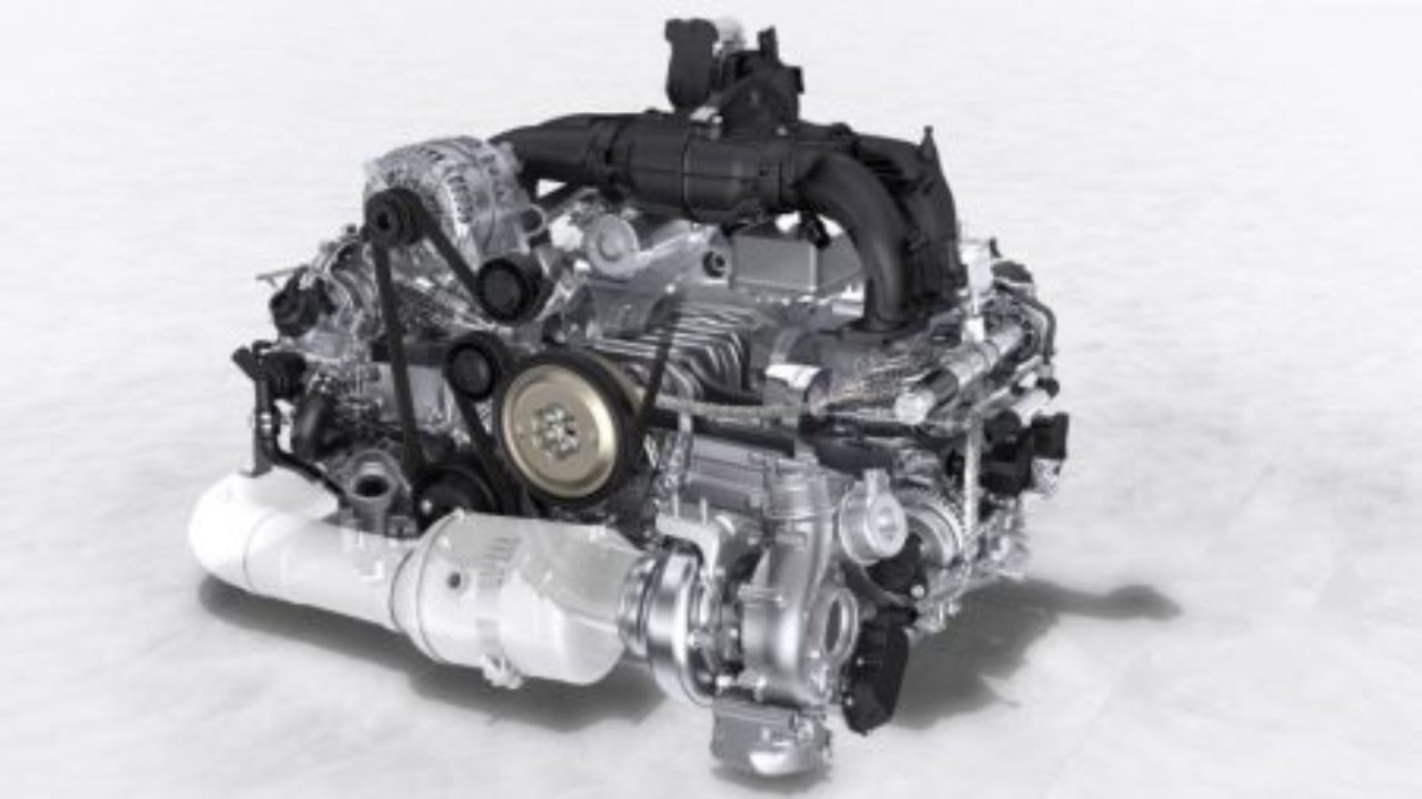 hight resolution of the appeal of the flat engine