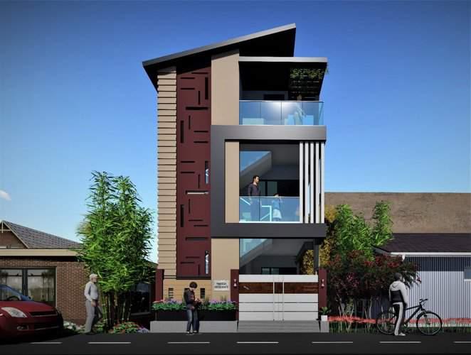 20x30 House plans, 3d Designs