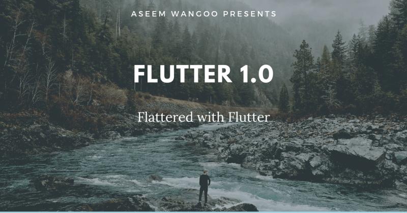 Flutter Live 18 Overview…