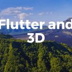 Flutter and3D
