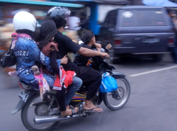 Two Wheeled Family Transport