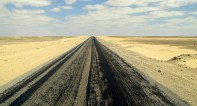 Desert road to Cairo