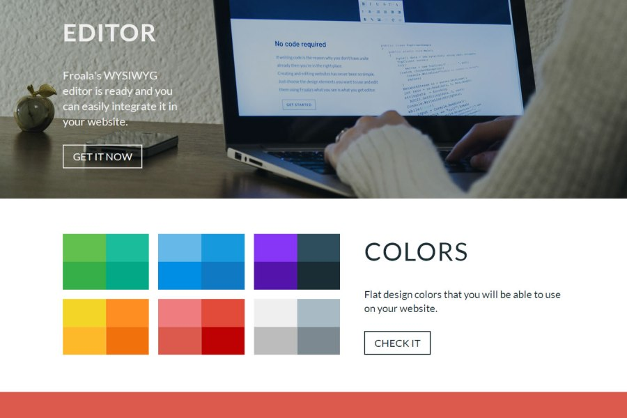 Top 10 flat website designs for February 2014  Best Flat UI