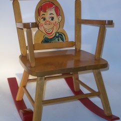 Howdy Doody Rocking Chair Recliner Reviews 2018 Musical By Thayer Vintage 1950
