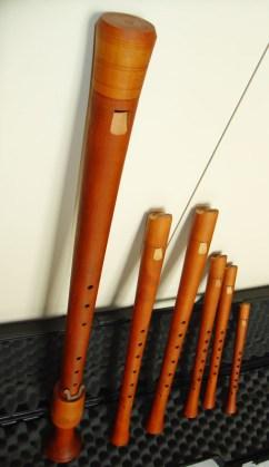 Consort de flautas renacentistas de Bob Marvin del Conservatorio Superior de Sevilla 01