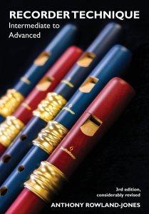 Rowland-Jones A - Recorder Technique - Intermediate to Advanced