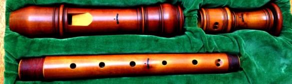 Flauta de pico de Fred Morgan según Debey. 7000€ en el mercado profesional